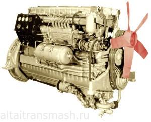 Дизельные двигатели путевых машин