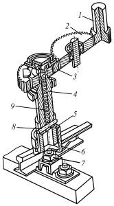 Зубчатая передача и шпиндель рехлучевого редуктора