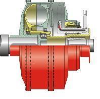 Гидродинамический привод путевых машин