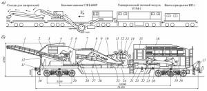 Общий вид машины СЗП-600