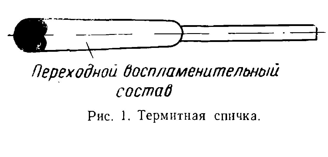 Термитная сварка рельсов технология сварки рельсов термитом Термитная спичка